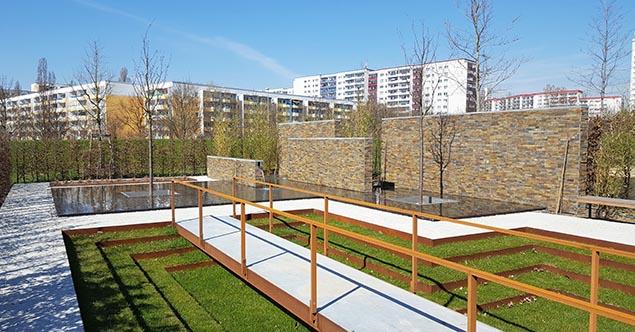 Brasilien: Moderner Garten (Entwurf: Alex Hanazaki, São Paulo)